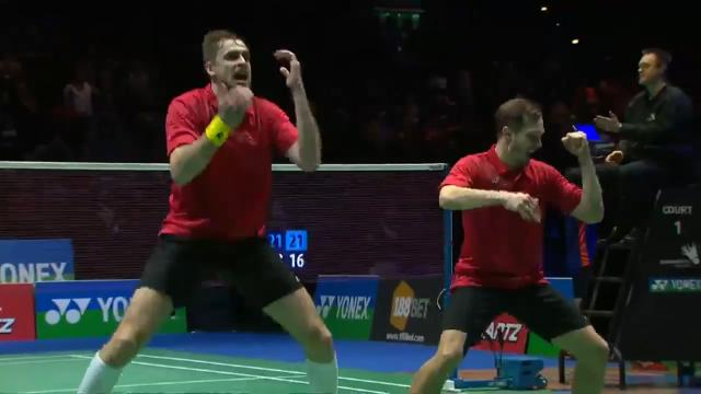 Ahhhh...the good old badminton haka. Dave Currie, eat your heart out.