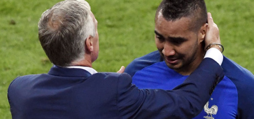 Dimitri Payet and a water carrier