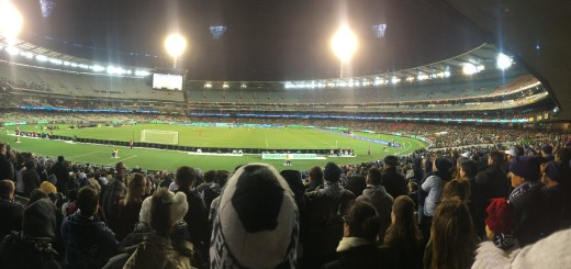 really an AFL ground in this part of the world