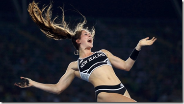 New Zealand's latest Olympic superstar.