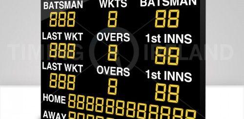 Custom Built LED Electronic Cricket Scoreboard-500x500