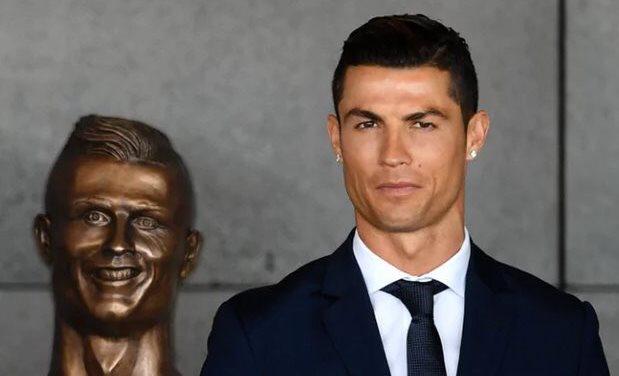 Ronaldo madrid airport