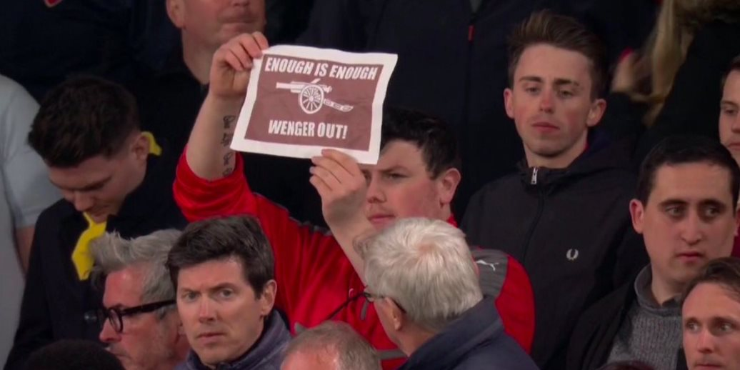 Small Wenger out
