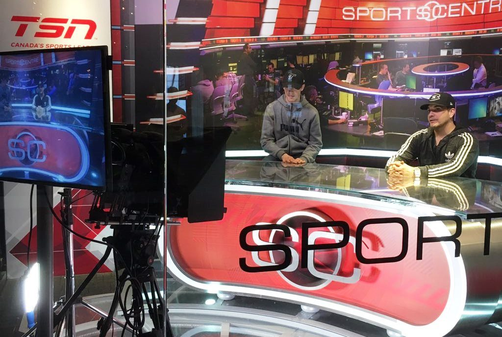 The Sportscenter broadcasting experience