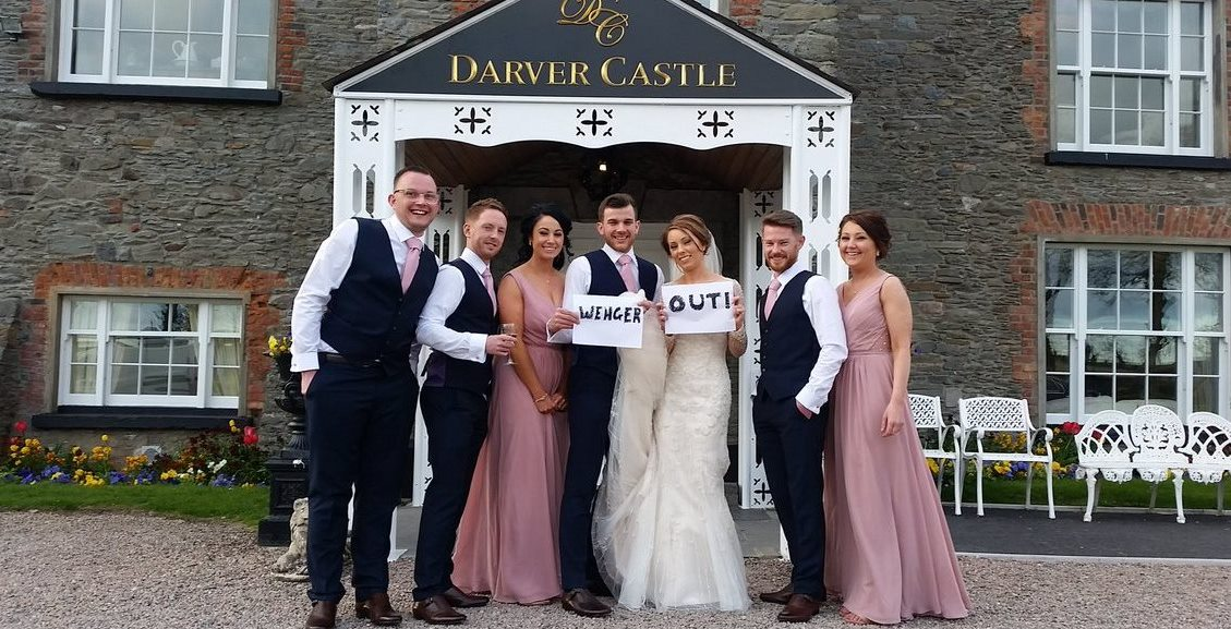 Wedding at Darver Castle, County Louth, Ireland