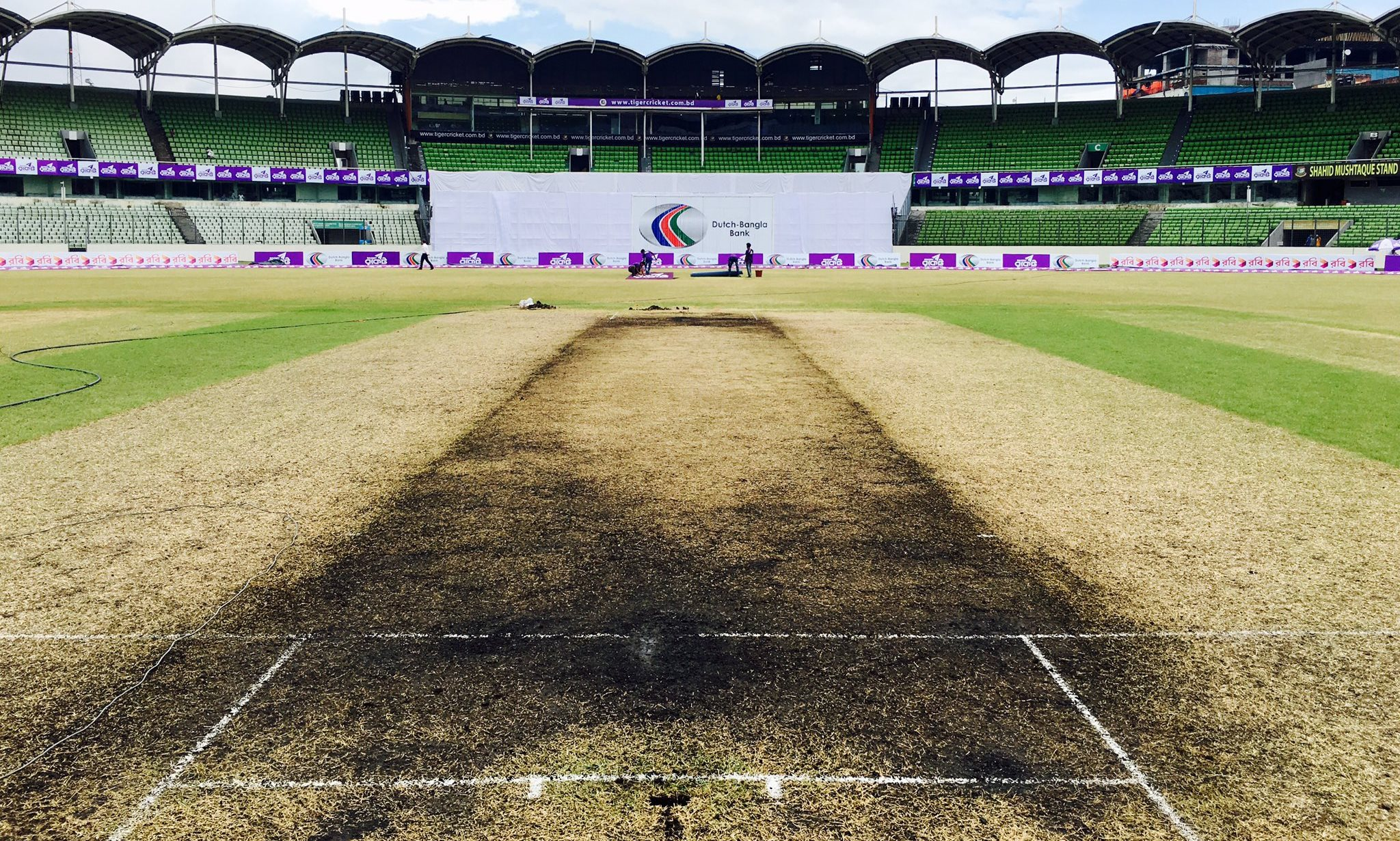 Mirpur pitch