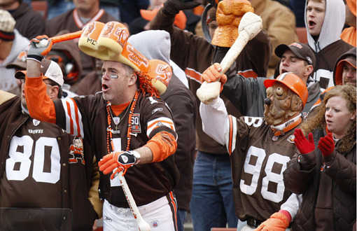 The AFC North version of the Oakland Raiders in the Dawg Pound