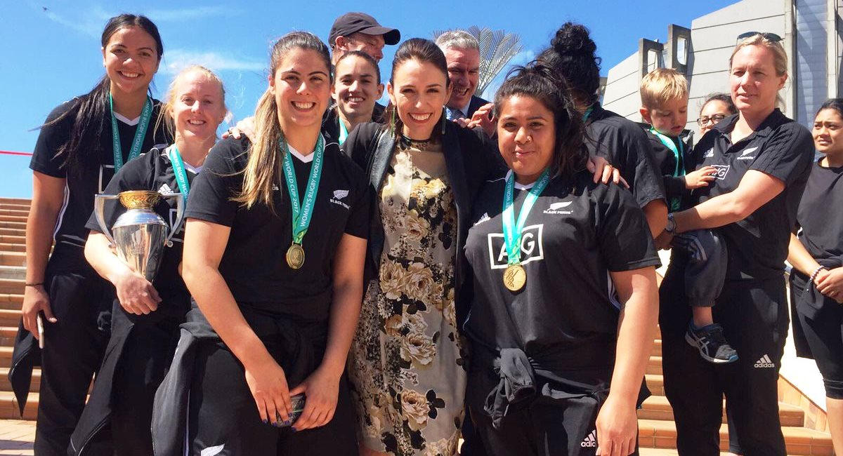 Jacinda black ferns