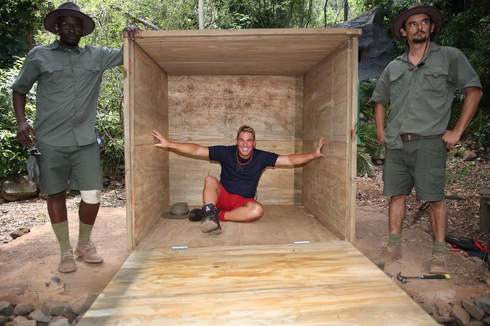 Warnie in a box