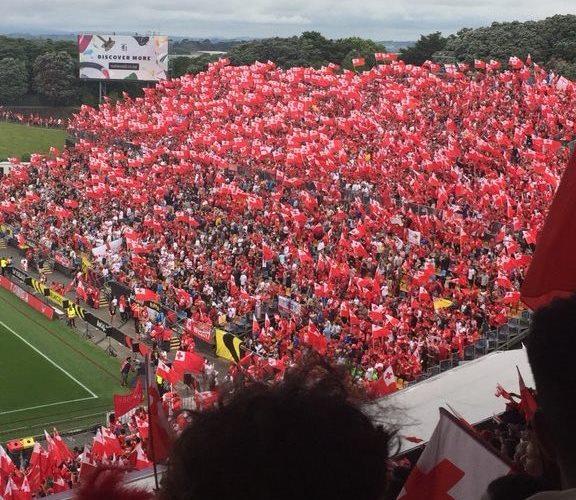 Those Tonga flags