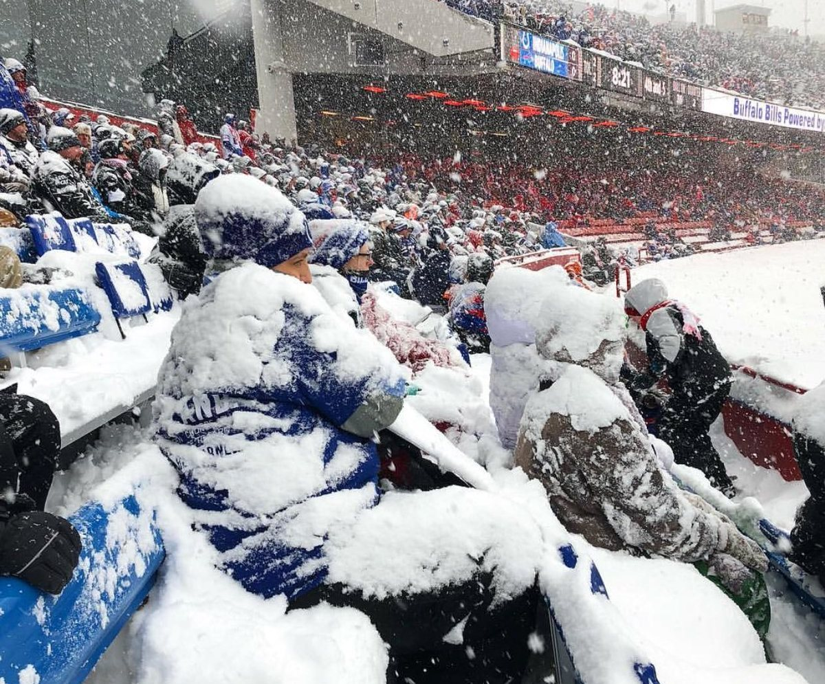 Buffalo Bills crowd