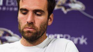 Ravens Quarterback Joe Flacco enthused re their playoff chances