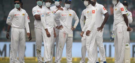 India v Sri Lanka cricket pollution