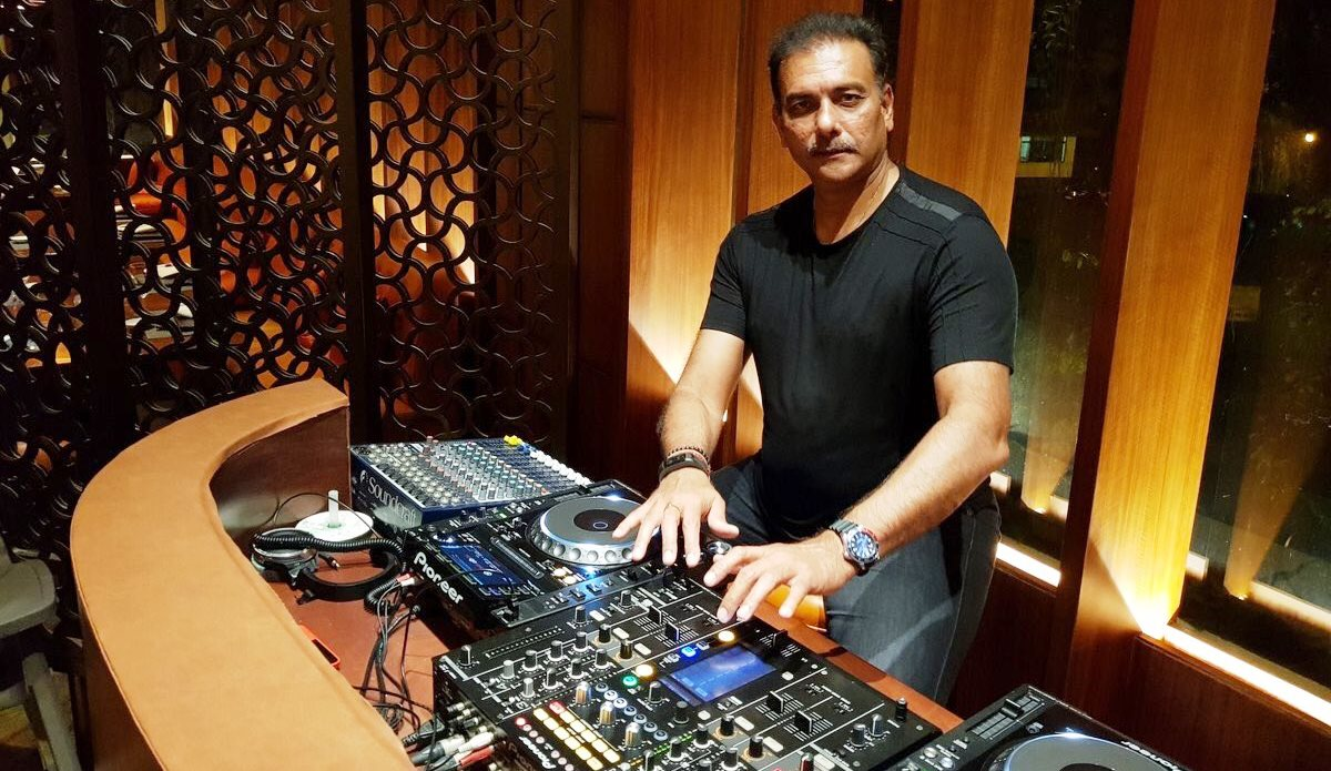 DJ Shastri dropping beats