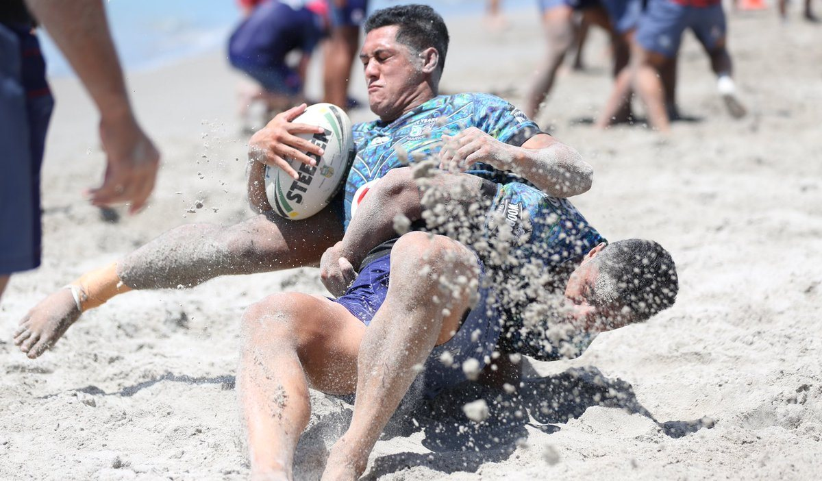 Warriors training Papamoa