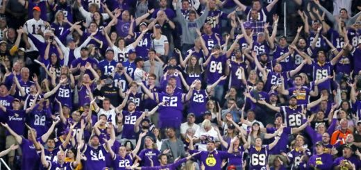 The Vikings football or soccer crowd ? Hard to distinguish