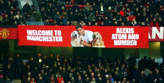 Alexis sanchez and thos bloody dogs