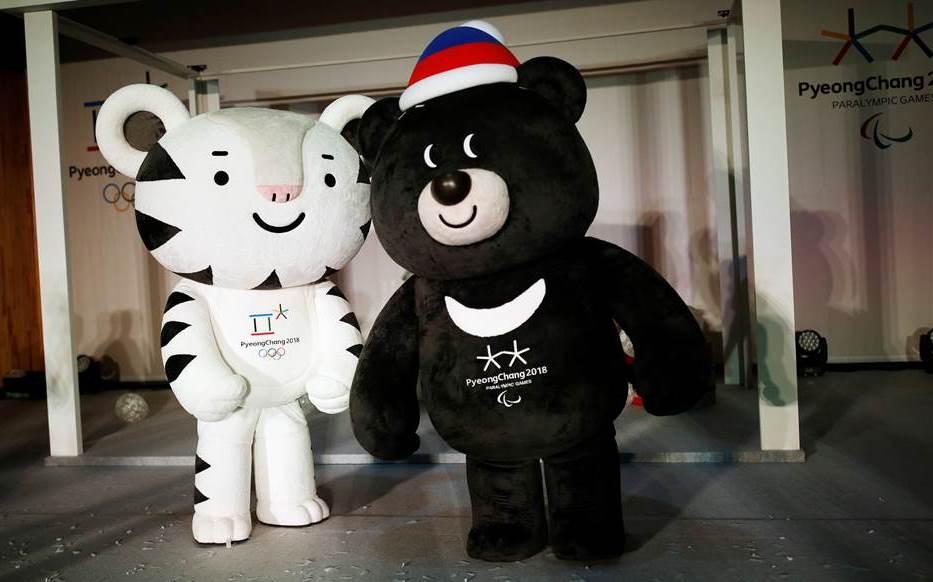 Winter olympics mascots