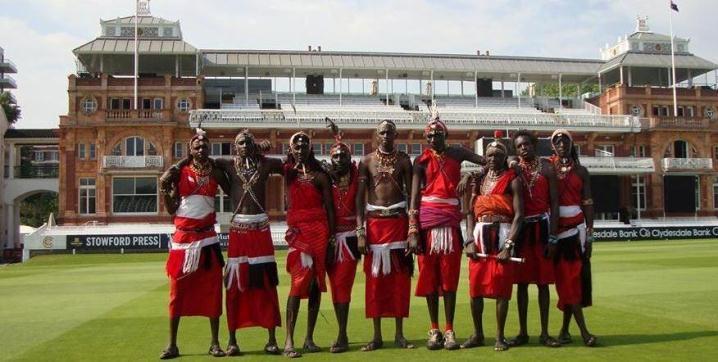 Masai Warriors at Lords