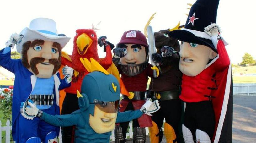 All mascots