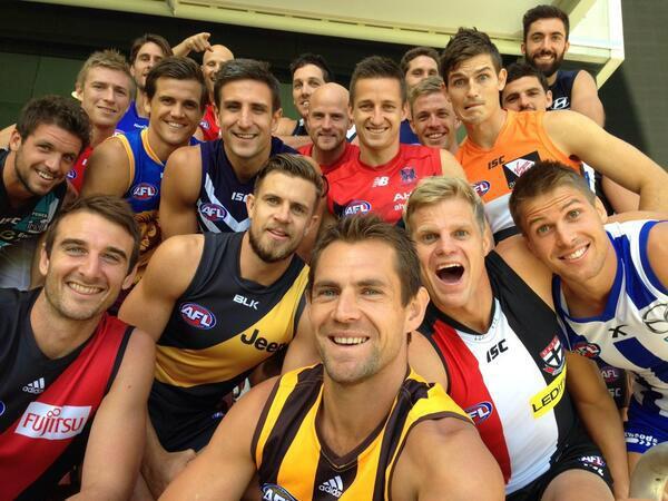 AFL Selfies