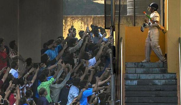 Sachin final test  Atul Kamble