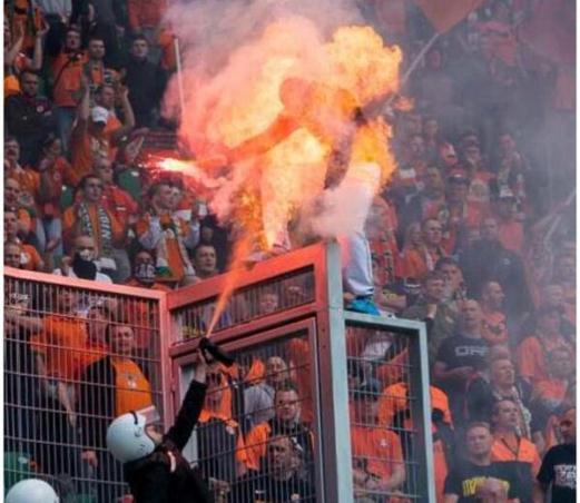 Poland pepper spray