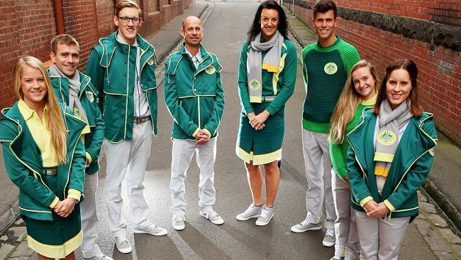 Aus Comm Games uniforms