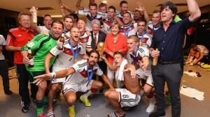 Merkel changing room