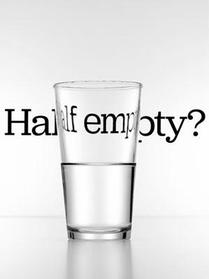 Glass half empty full essay