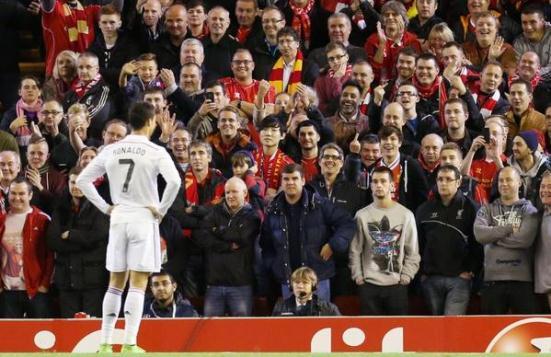 Ronaldo at Liverpool