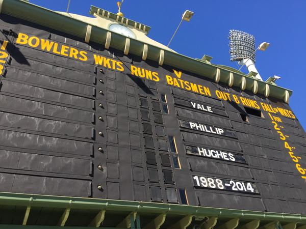 Adelaide Oval Hughes