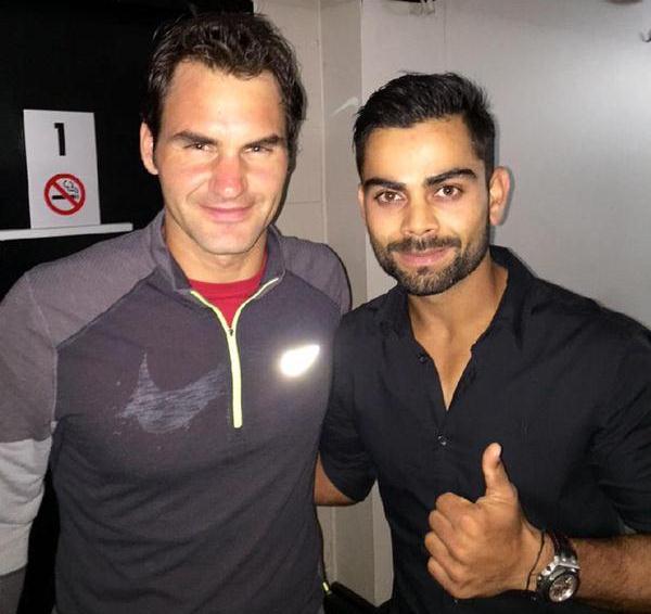 Federer Kohli
