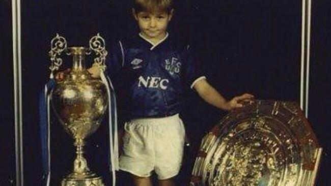 Stevie G as a kid