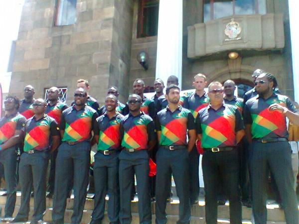 Zimbabwe leave for World Cup
