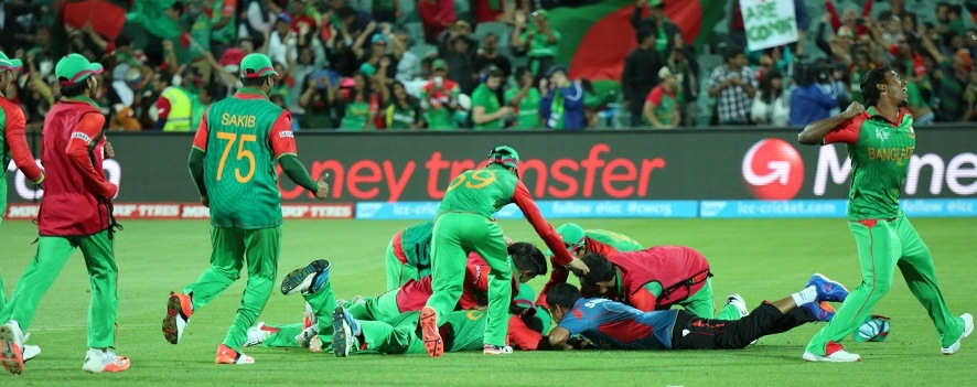 Bangladesh beating England