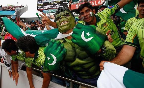 Pak fans Eden Park