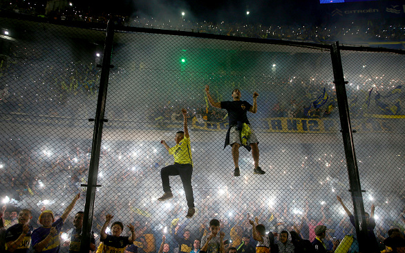 Boca Juniors vs. River Plate was abandoned last night after a fan pepper sprayed River players in the tunnel