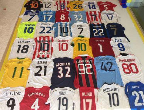 Gerard Pique jerseys