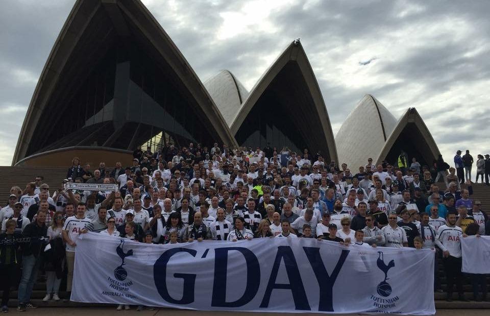 Spurs own Sydney
