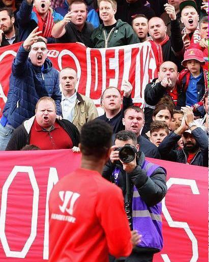 Sterling and fans