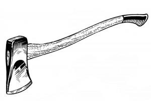 swining axe