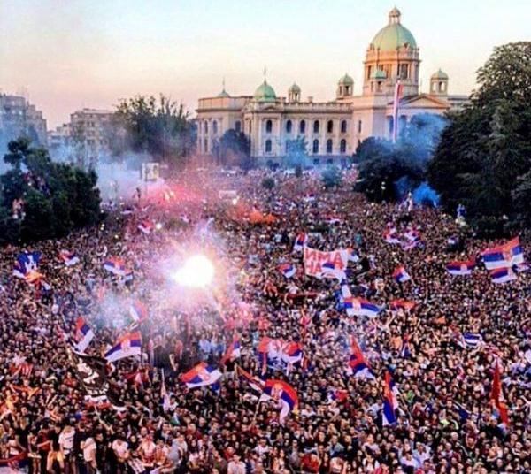Belgrade celebration