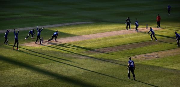 Long shadows Edgbaston