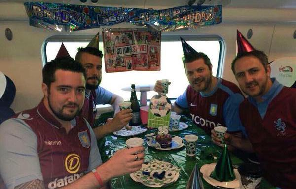 Villa on the way to the FA Cup final