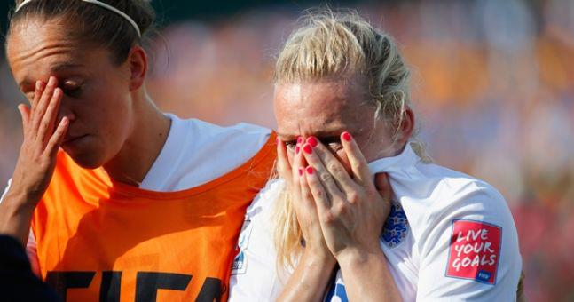 England defeat
