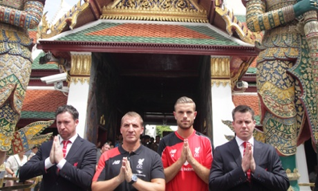 Liverpool FC visits Thailand for friendly match