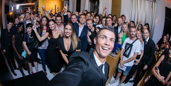 Ronaldo selfie