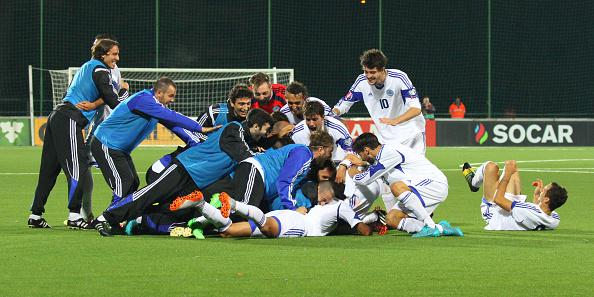 San Marino first goal since 2001