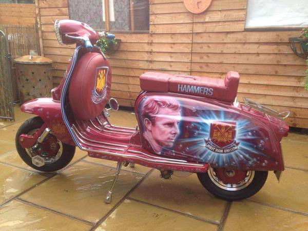 Bobby Moore scooter